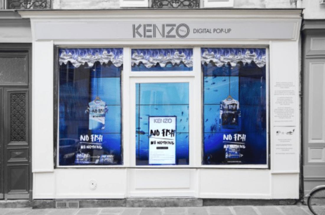 pop-up kenzo