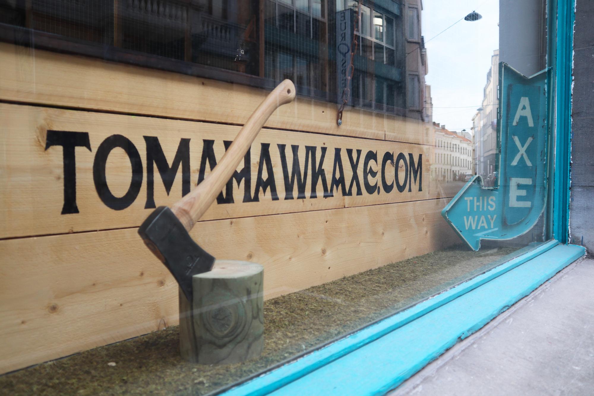 Tomahawk Axe Bruxelles