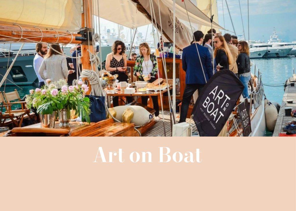 Art on Boat