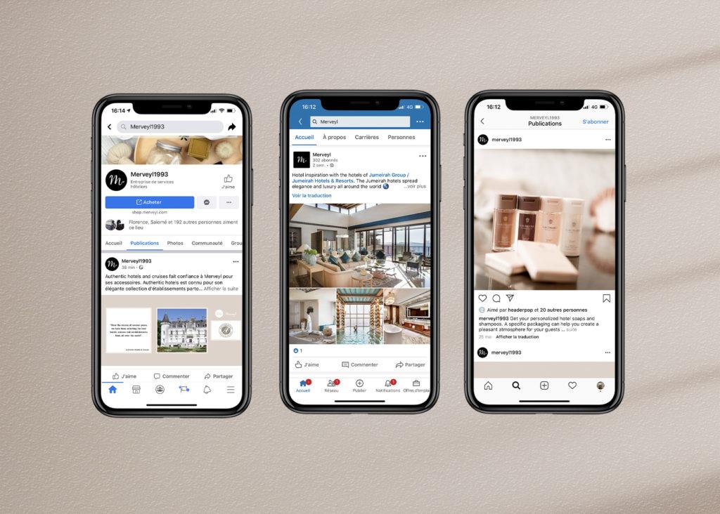 Sociale netwerken hotelproducten