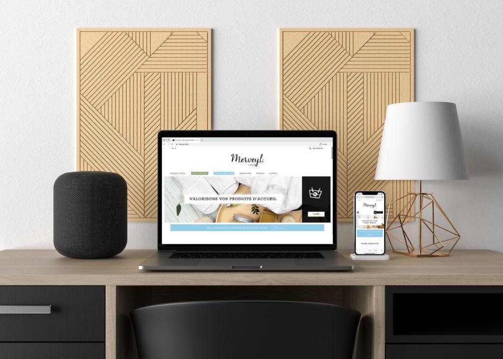 Hotel brand website