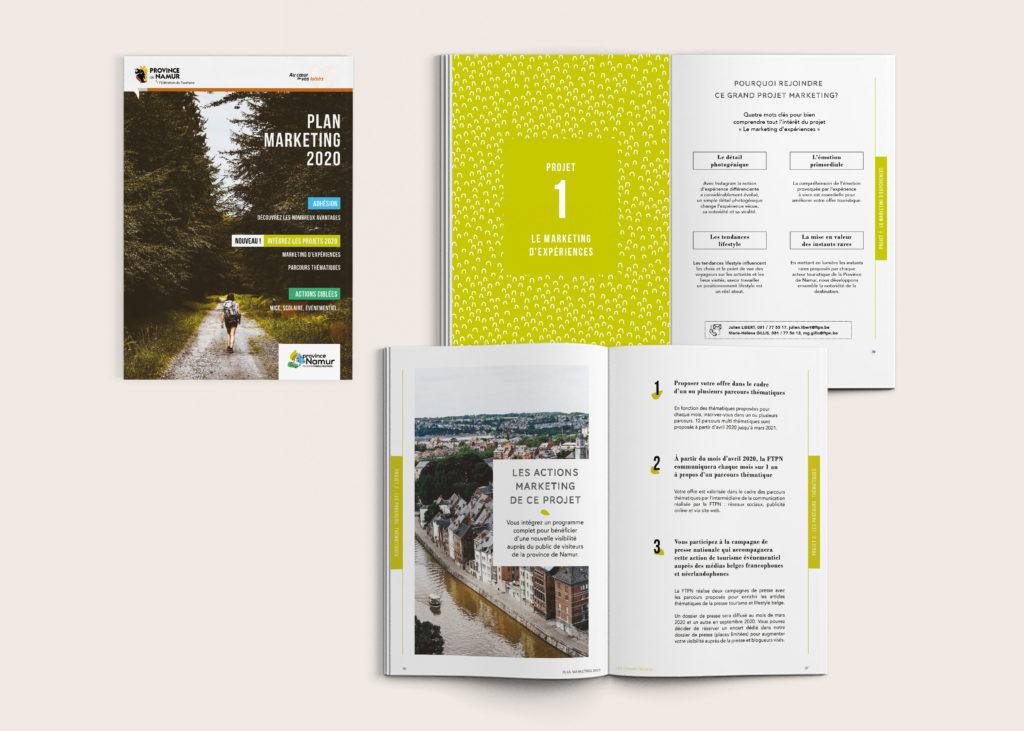 Namur marketing plan