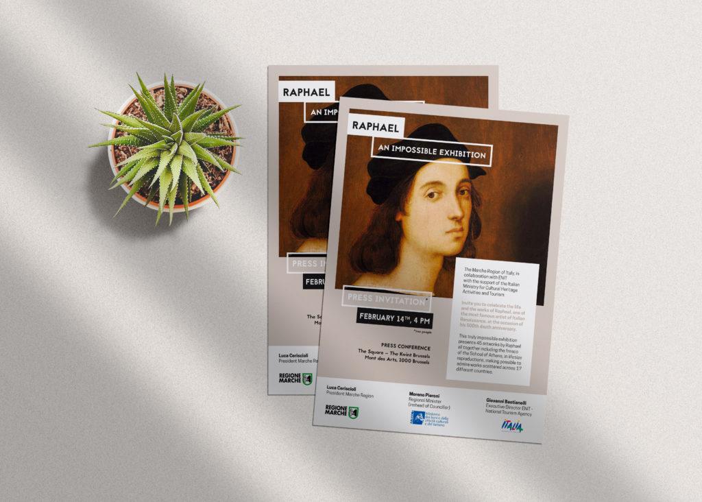 Affiche exposition Raphael