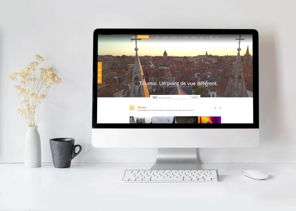 Site web touristique