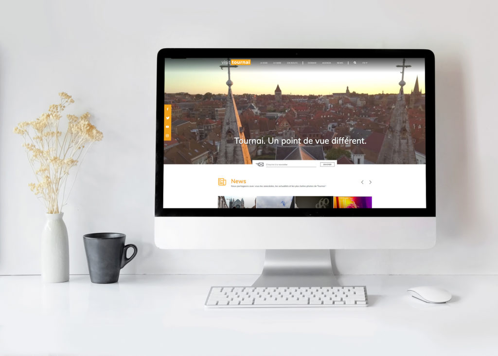 Toeristische website