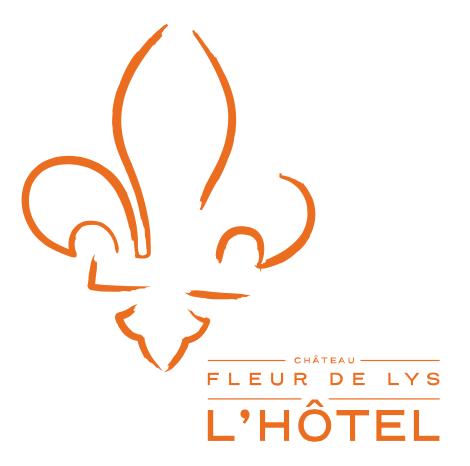 logo château fleur de lys Québec