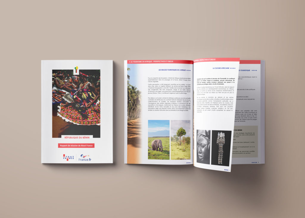 graphic realisation touristic guide