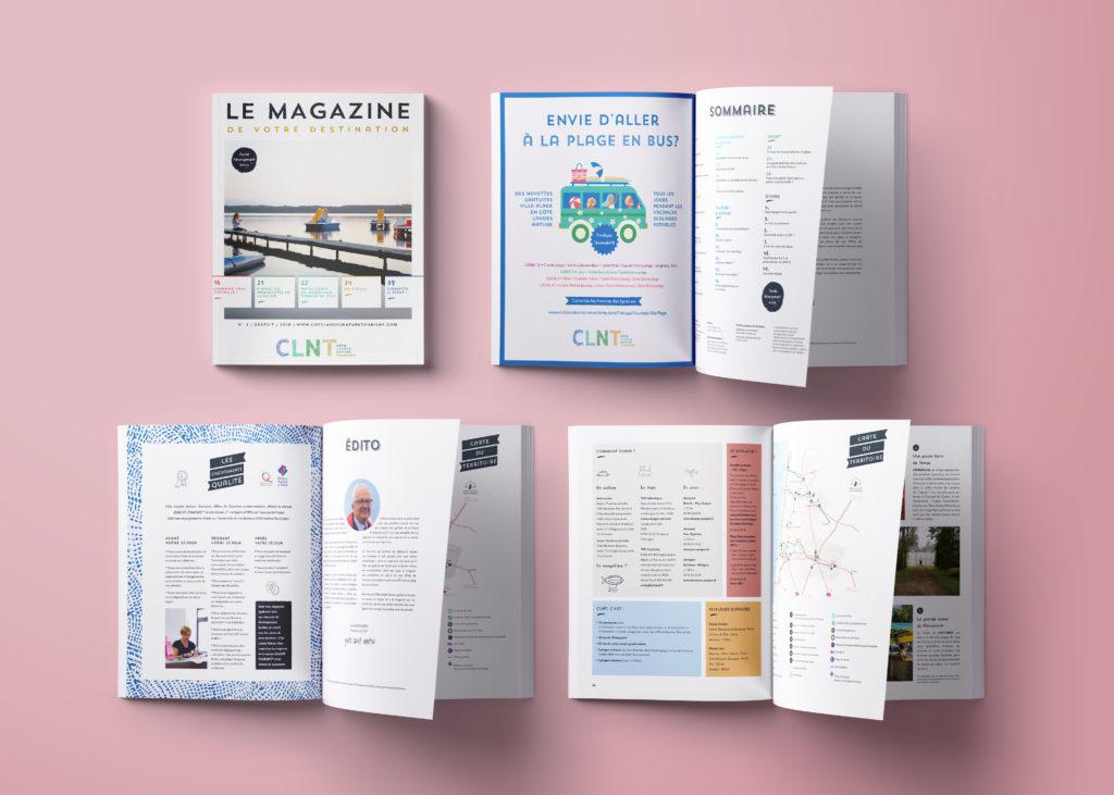 touristic magazine