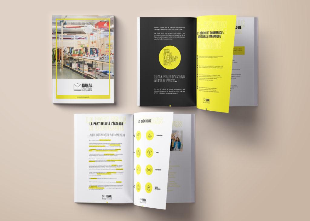 Kanal store presse kit